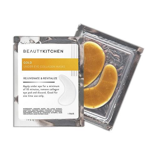 Beauty Kitchen   24k Nano Gold Eye Mask