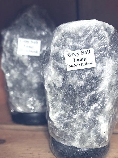 Grey Himilayan Salt Lamp