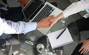 Business Handshake - Logistics Recruiter