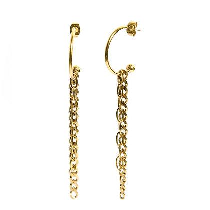 Chain party earrings