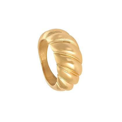 Big gold ring