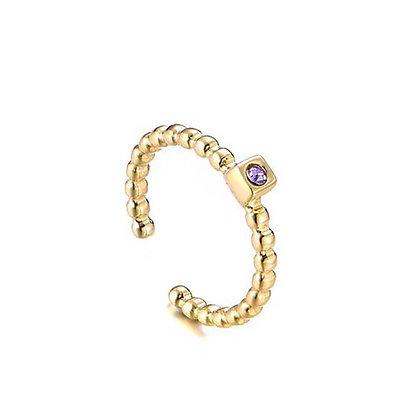 Sparkle purple ring