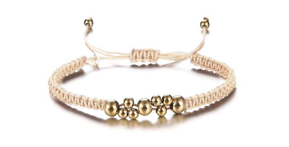 Nude beads armband