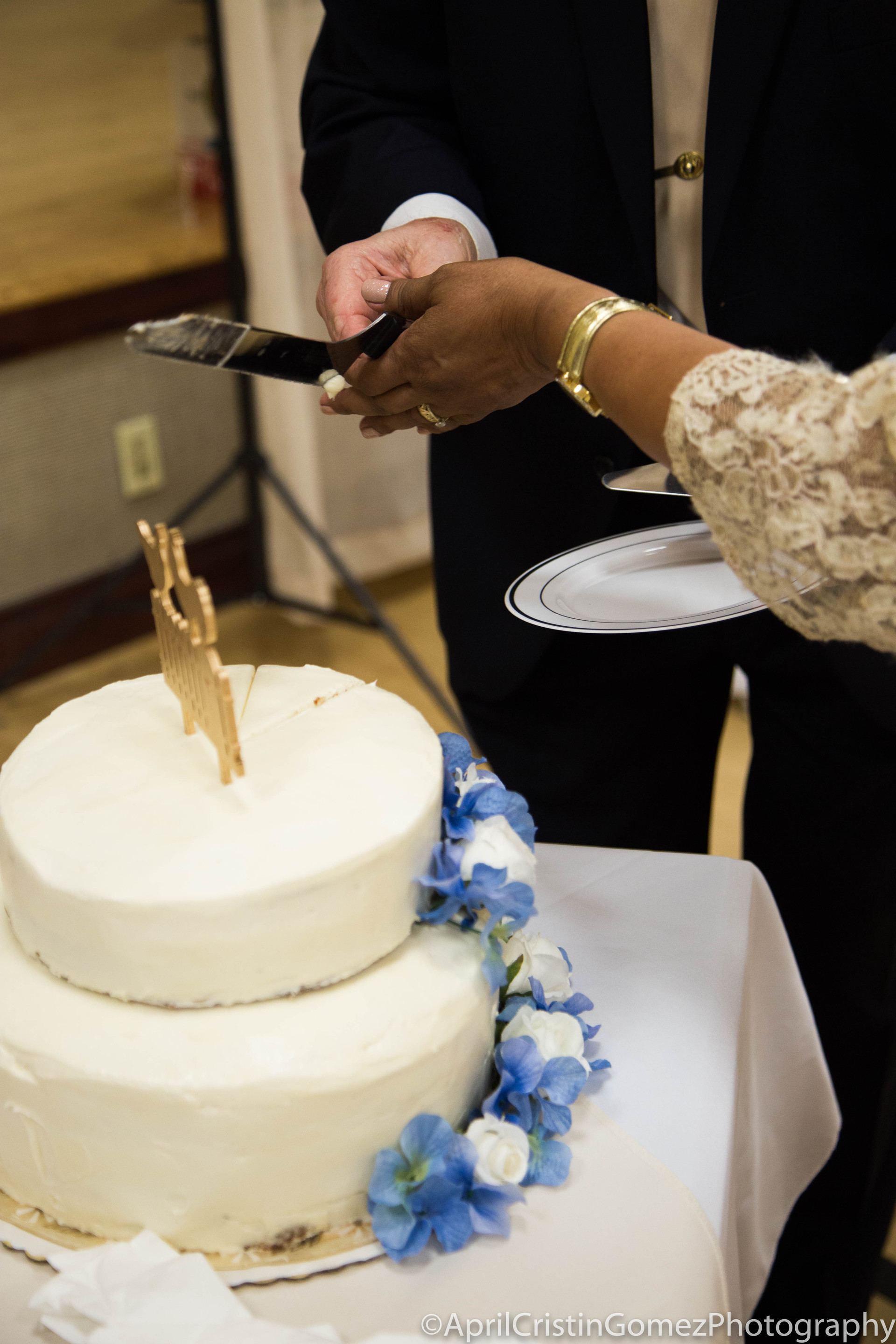 Cutting The Cake Together