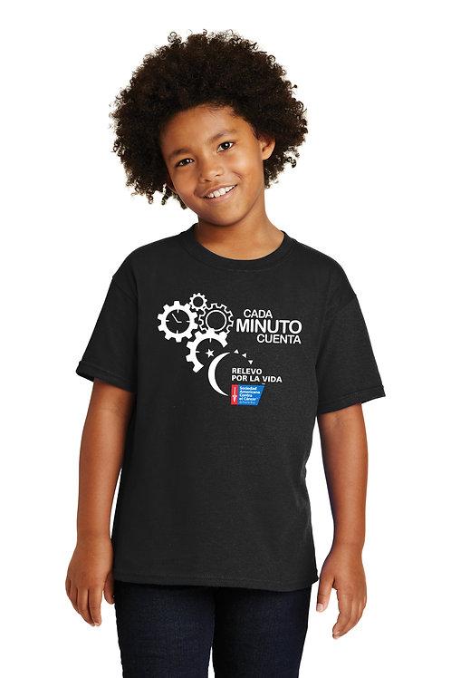 T-Shirt Negra RPLV 2020 Niños