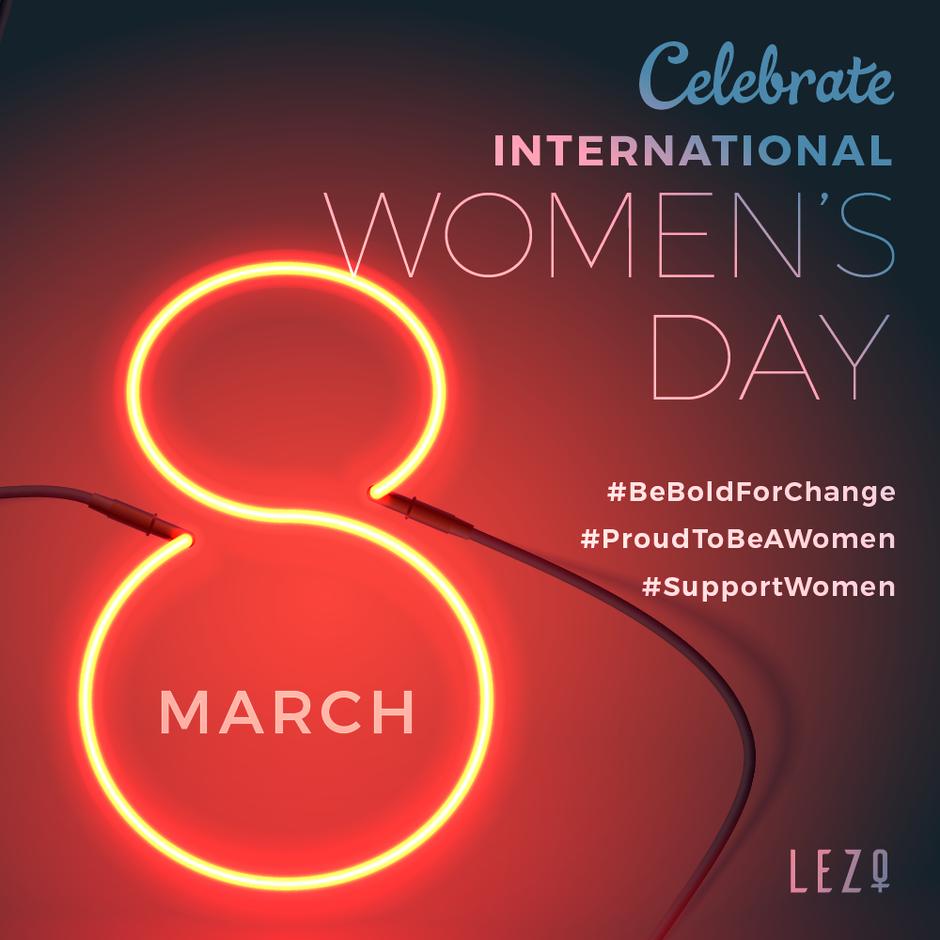 #BeBoldForChange? YES, I'M IN International Women's Day