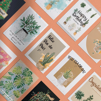 Greeting Cards Illustrations