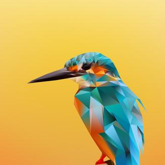 Avian Nature Polygons