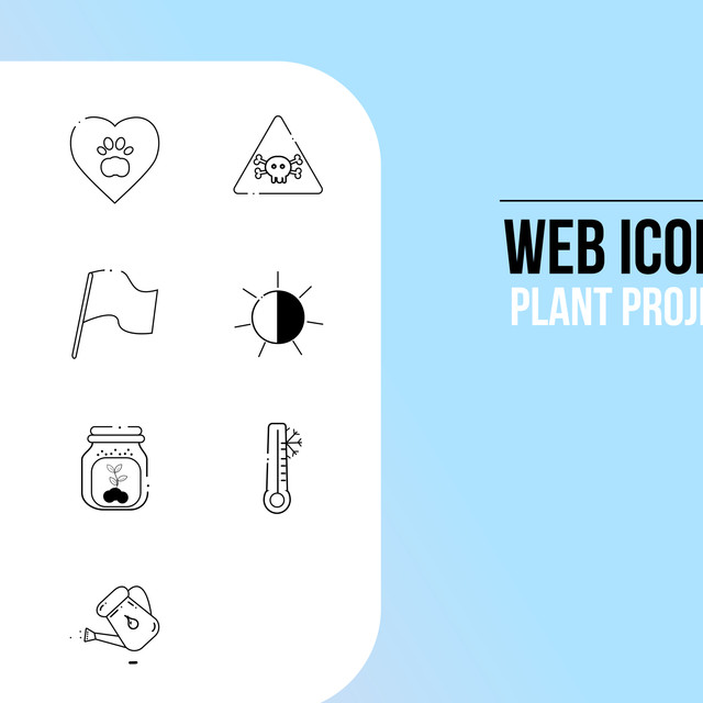 Plant Company Icons Project