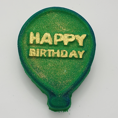 Birthday Balloon Vegan Bath Bomb