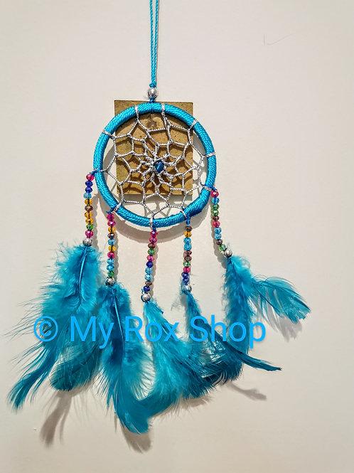 6cm Turquoise Dream Catcher