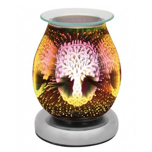Silver 3D Tree of Life Desire Lamp