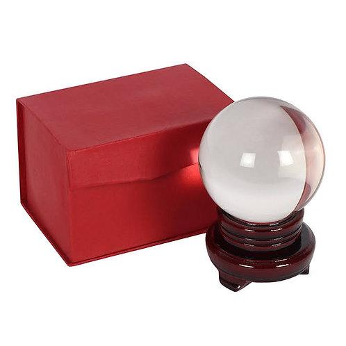10cm Crystal Ball base & Case