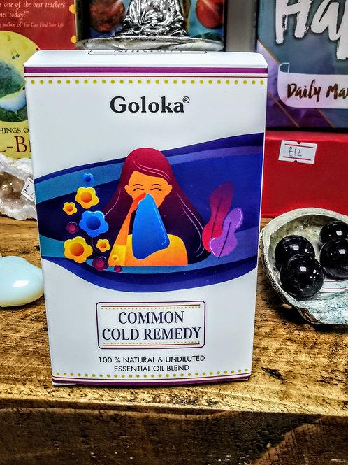 Common cold remedy oil