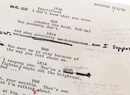 Thoughts On Marking on a Script