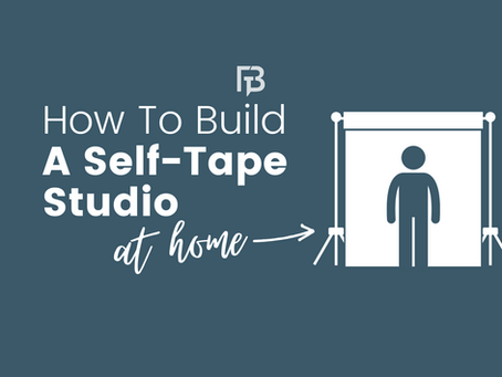 How to Build a Self-Tape Studio At Home