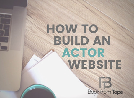 How to Build an Actor Website