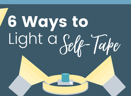 6 Ways to Light a Self-Tape (with pictures)
