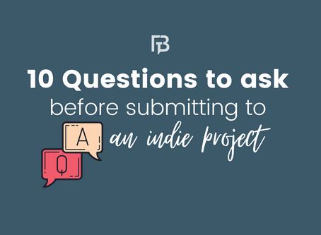 10 Questions to Ask Before Submitting to an Indie Project