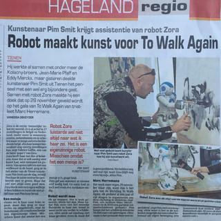 Robot Zora Robot Art