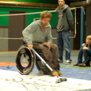 Marc Herremans Wheelchair Art