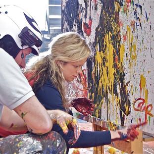 Kim Clijsters Tennis Art