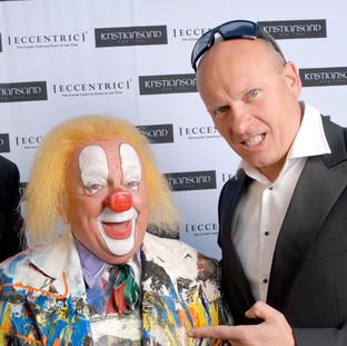 Clown Bassie and Pim Smit