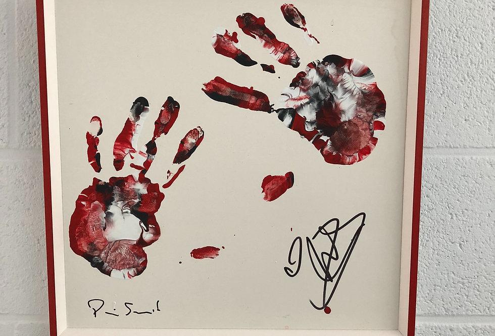 Art Hands of Simon Mignolet 40/40cm