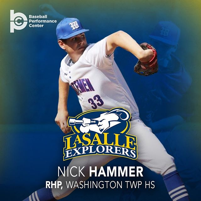 Congratulations to 2020 RHP Nick Hammer