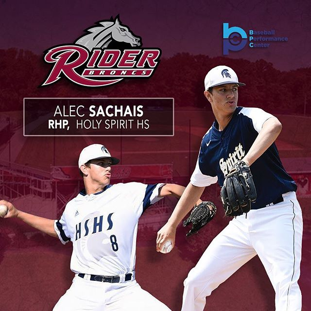 Congratulations to Alec Sachais on his c