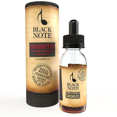 Black Note Longfill CIGARETTE BLEND 10 Ml. (10+20)