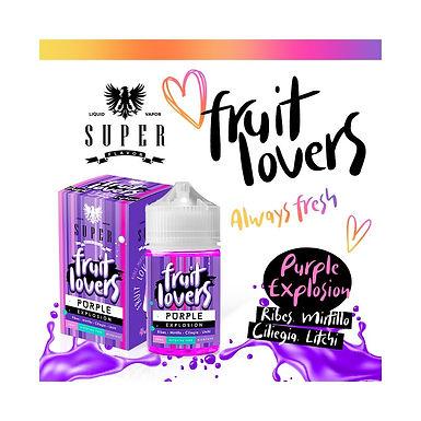 Super Flavor Purple Explosion  Mix & Vape 50 Ml.