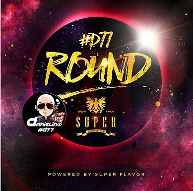 SuperFlavor ROUND by #D77 50ml Mix&Vape