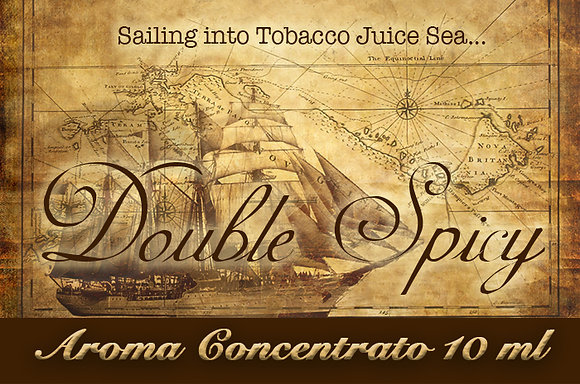 Blendfeel Double Spicy Selection – Aroma di Tabacco concentrato 10 ml.