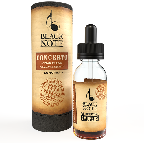Black Note Longfill Concerto CIGAR BLEND 10 Ml. (10+20)