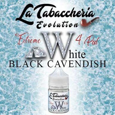 La Tabaccheria - Extreme 4 pod - Black Cavendish White - 20ml