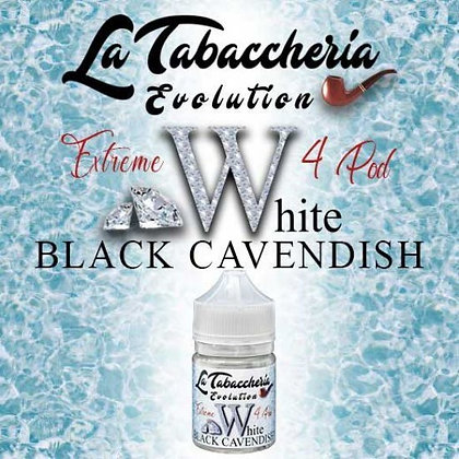 La Tabaccheria - Extreme 4 pod - Black Cavendish White - 20ml