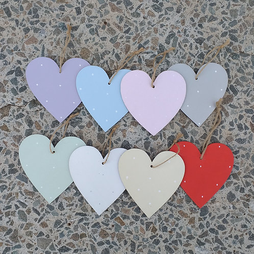 Personalised Hearts - large