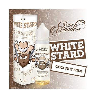 SevenWonders WHITESTARD 50ml Mix&vape