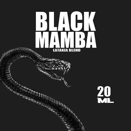 Azhad's Elixirs Back in Black Mamba Shot Series 20 Ml.