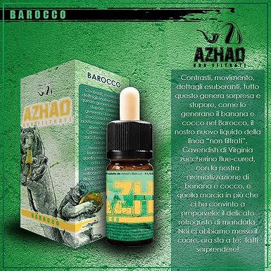 Azhad's Elixirs Aromi Non Filtrati Aromatizzati BAROCCO  10 Ml.