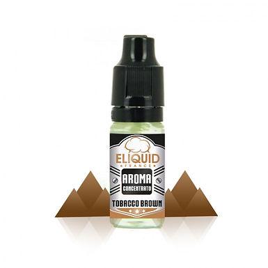 Eliquid France Aroma Concentrato Tobacco Brown 10 Ml.