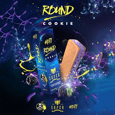 Super Flavor Round Cookie  D77 Mix&Vape 50 Ml.