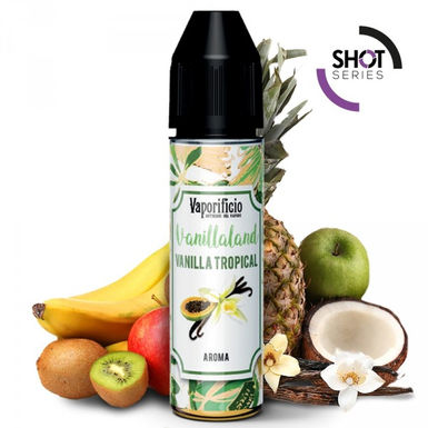 Vaporificio Vanilla Tropical  20 Ml. Shot Series