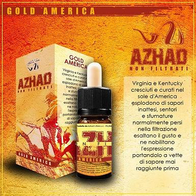 Azhad's Elixirs Aromi Non Filtrati GOLD AMERICA  10 Ml.