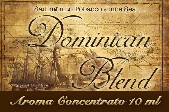 Blendfeel Dominican Blend – Aroma di Tabacco concentrato 10 ml.