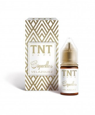 TNT Vape Cigarillos Velasquez Shot Series 20+10 Ml.