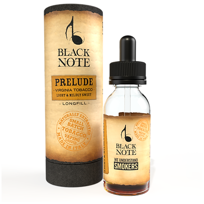 Black Note Longfill Prelude VIRGINIA TOBACCO 10 Ml. (10+20)