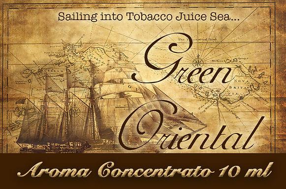Blendfeel Green Oriental – Aroma di Tabacco concentrato 10 ml.