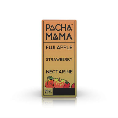 Pacha Mama Peach Fuji Apple Strawberry Nectarine Aroma Shot Series